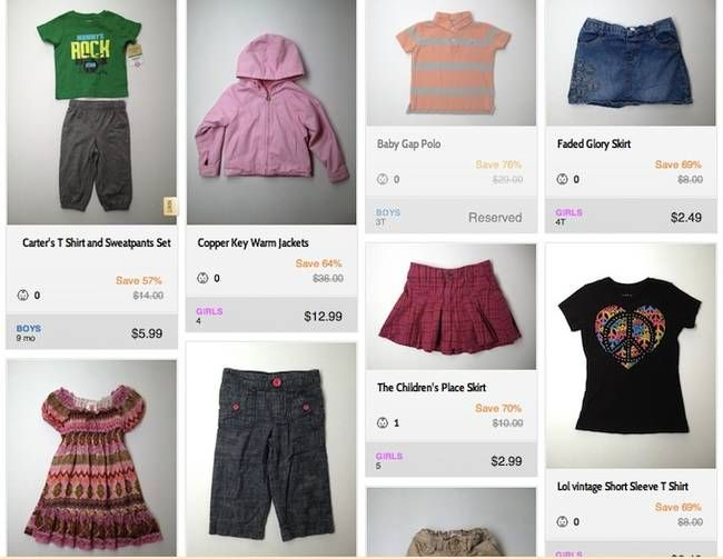 5 Online Shops For Stylish Secondhand Baby And Kids Clothes Kids