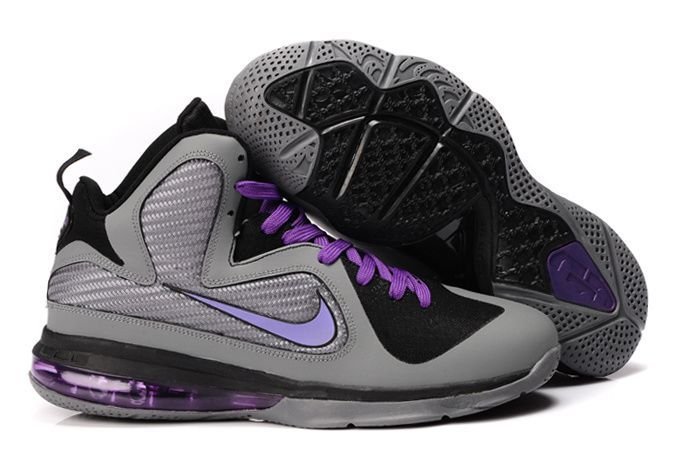 Lebron 9 Black And Grey