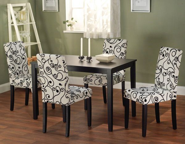 Proper Upholstered Kitchen Chairs Cleaning Steps Dining Room Pinterest Modern Design And Sofa Reupholstery