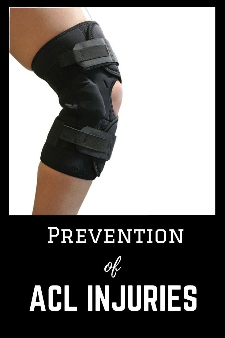 Anterior cruciate ligament you can prevent your injury