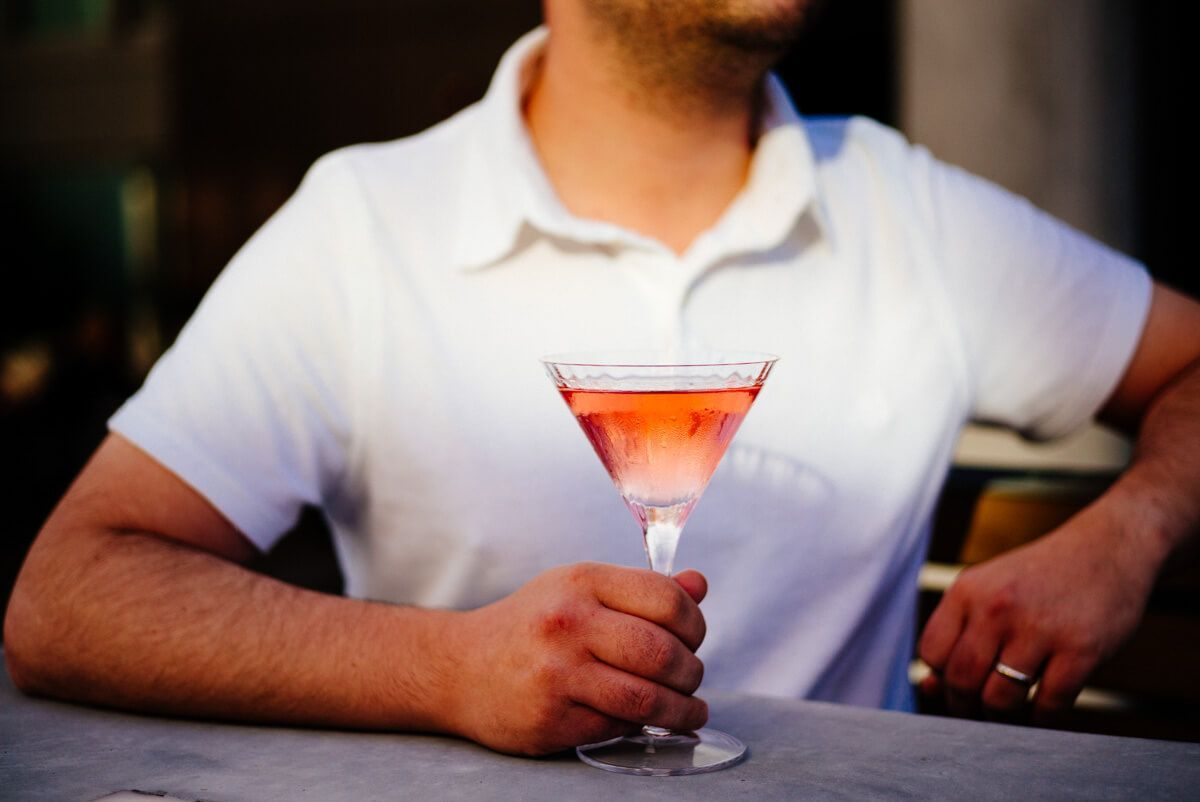 Lychee Martinis - The Taste SF #lycheemartini On a hot day we love making a Lychee Martinis. They remind us of our trip to Santa Barbara as well as our trip to Italy at Palazzo Avino. We usually garnish them with lychees, however… #lycheemartini