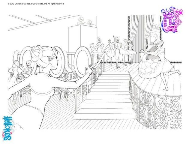Giselle Ballet Coloring Page More Barbie Ballerina Coloring Sheets