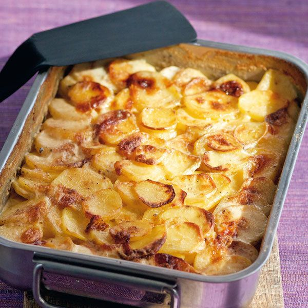 Feines Kartoffelgratin