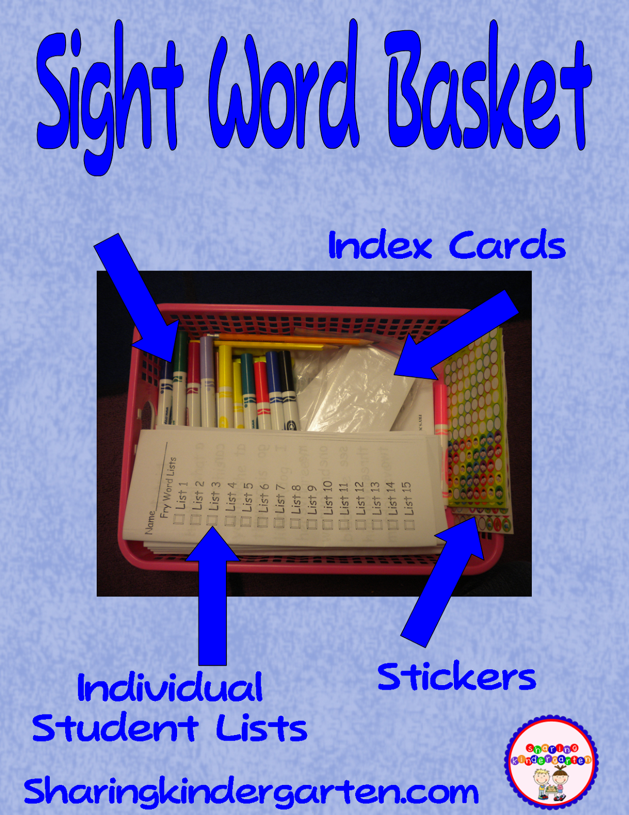Sight Word Help And Fry List 1 Finished
