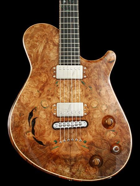 Crow Hill Palomino Chambered Semi Hollowbody Electric Guitar Electric Guitar Custom Guitars Guitar