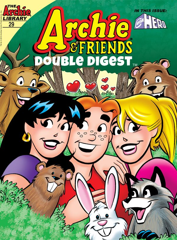 On Sale Today Archie Friends Double Digest 29 Get A Copy At Your Local Comic Shop Www Comicshoplocator Archie Comic Books Archie Comics Comic Book Covers