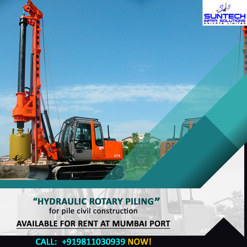Brand new Hydraulic Rotary Piling Rig SANY SR-285W with