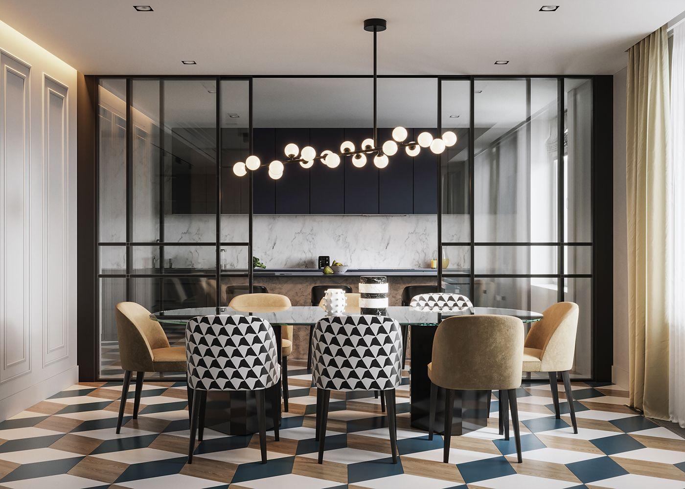 Modern Classicdesign Edificovisualization Vizline Studio Classic Dining Room Dining Room Interiors Luxury Dining Room