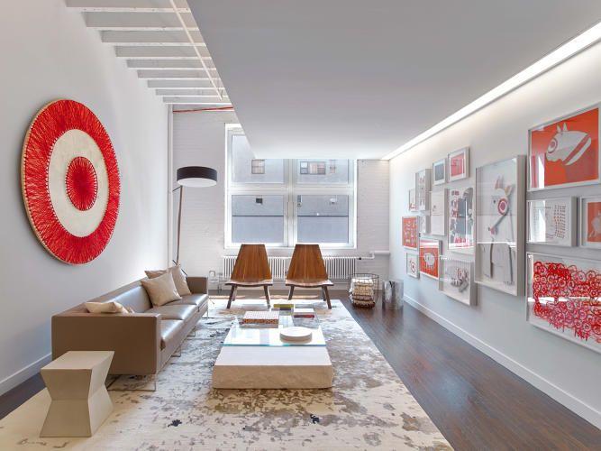 Peep Targets Sleek Loft Like NYC Office