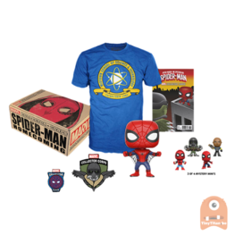 Marvel Collector Corps SPIDER-MAN HOMECOMING Complete Box NEW Funko SMALL