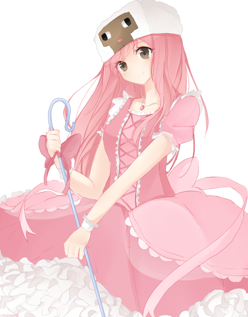 [C] Elleanora Anime, Minecraft skin, Art