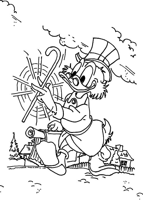 Disney Duck Tales Coloring Pages