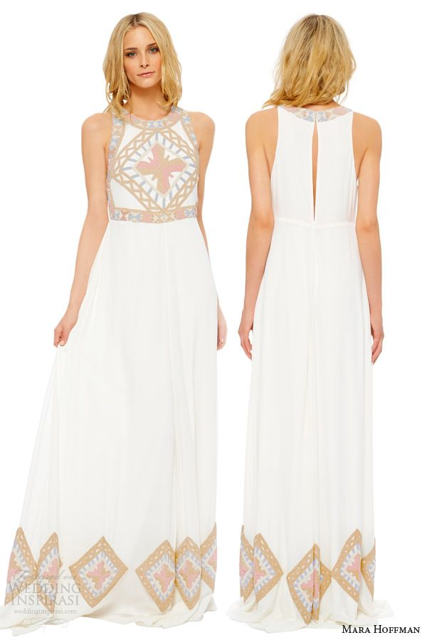 Mara Hoffman Wedding Dresses Devotional Bridal Collection Inspirasi