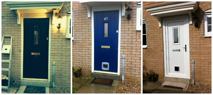 Before During And Oh Sod It Ill Buy A New Front Door My Home