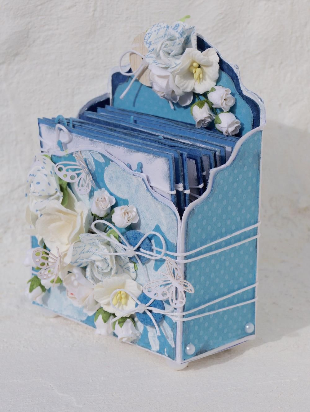 Mitt Lille Papirverksted: Birthday Calendar in a Box and a Tutorial
