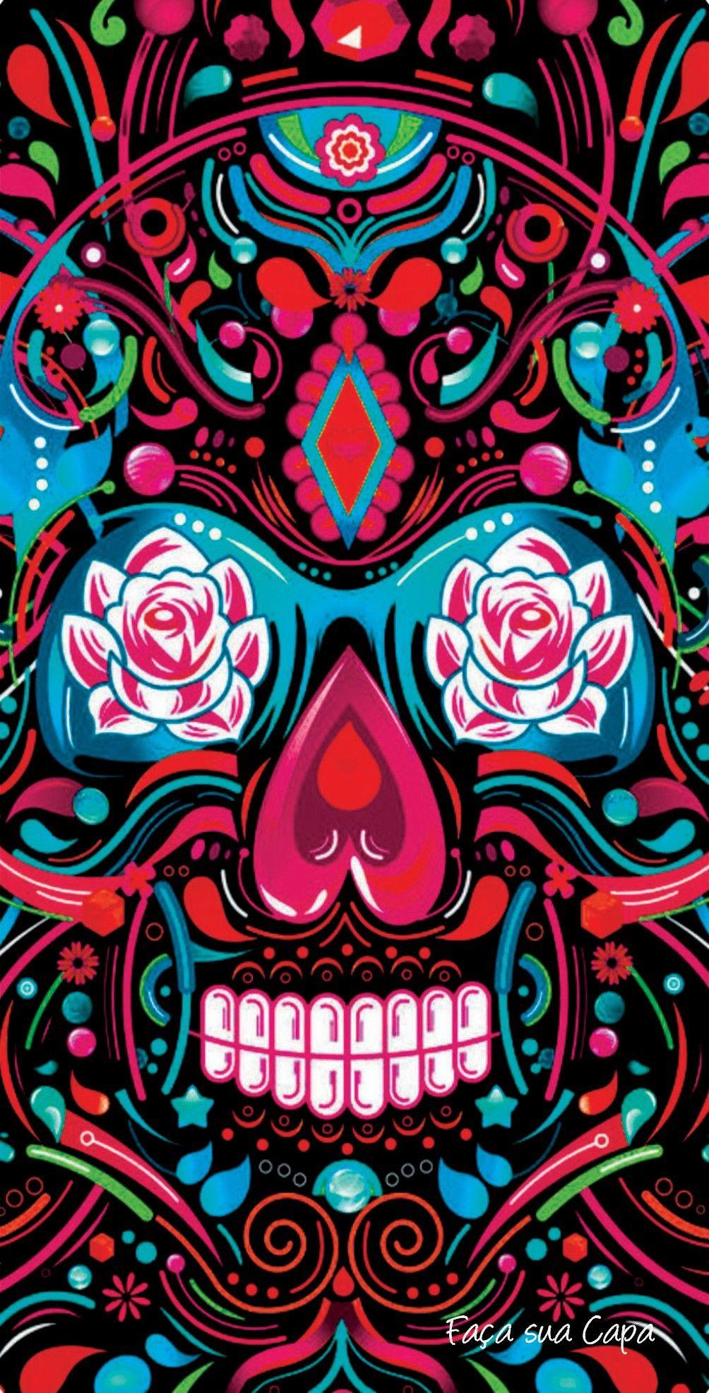 Pin by Jelly Bean on wallpaper Skull wallpaper, Pop art