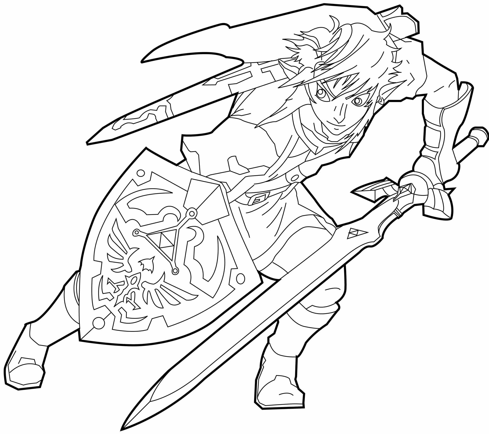 Http Malvina Hubpages Com Hub Free Zelda Coloring Pages