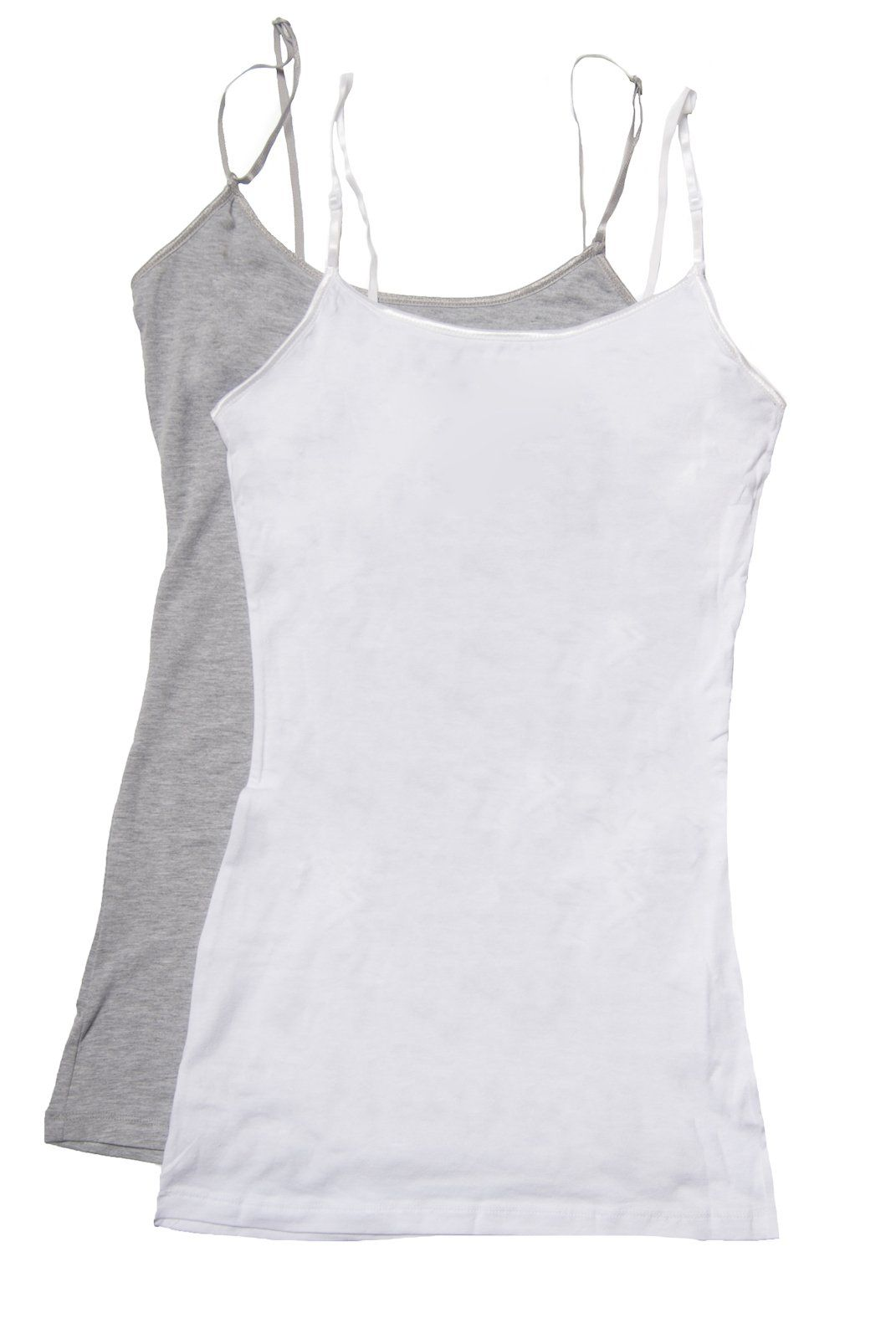 a7b219348e3bf Zenana Women's Tank Top Camisole, Pack of 2 at Amazon Women's Clothing store :
