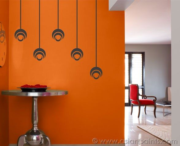 Pin By Asian Paints On Shades Of Summer Wall Paint Designs Asian Paints Wall Designs Asian Paints Colours