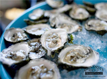 Chef Creek Oysters