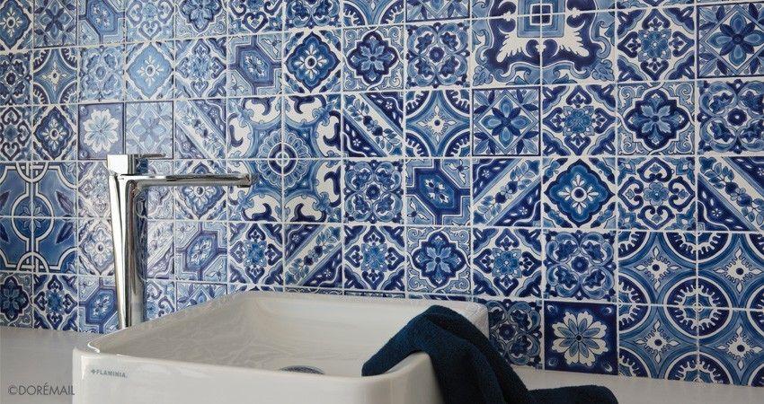 PATCHWORK MEX BLEU Dorémail Dar Tounes Pinterest Carrelage - Faience cuisine et tapis berbere tunisien