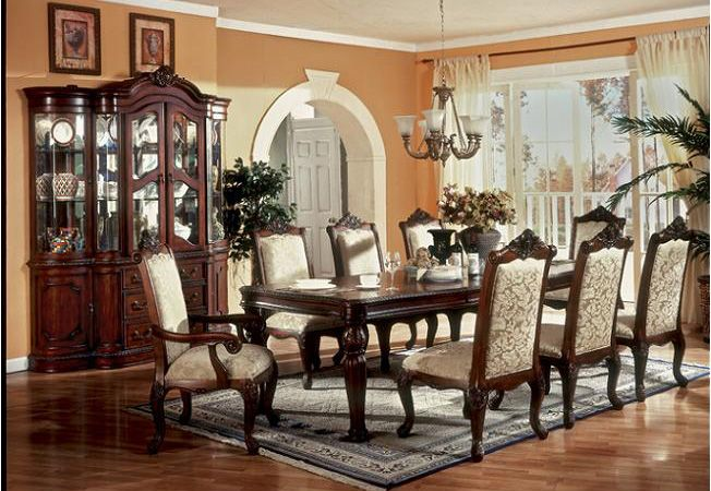 Victorian Dining Room  Furniturevictorian Monticello Cherry D2900 Mesmerizing Victorian Dining Room Decor Decorating Design