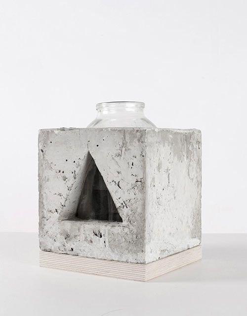 Кубики бетон бактерии бетон