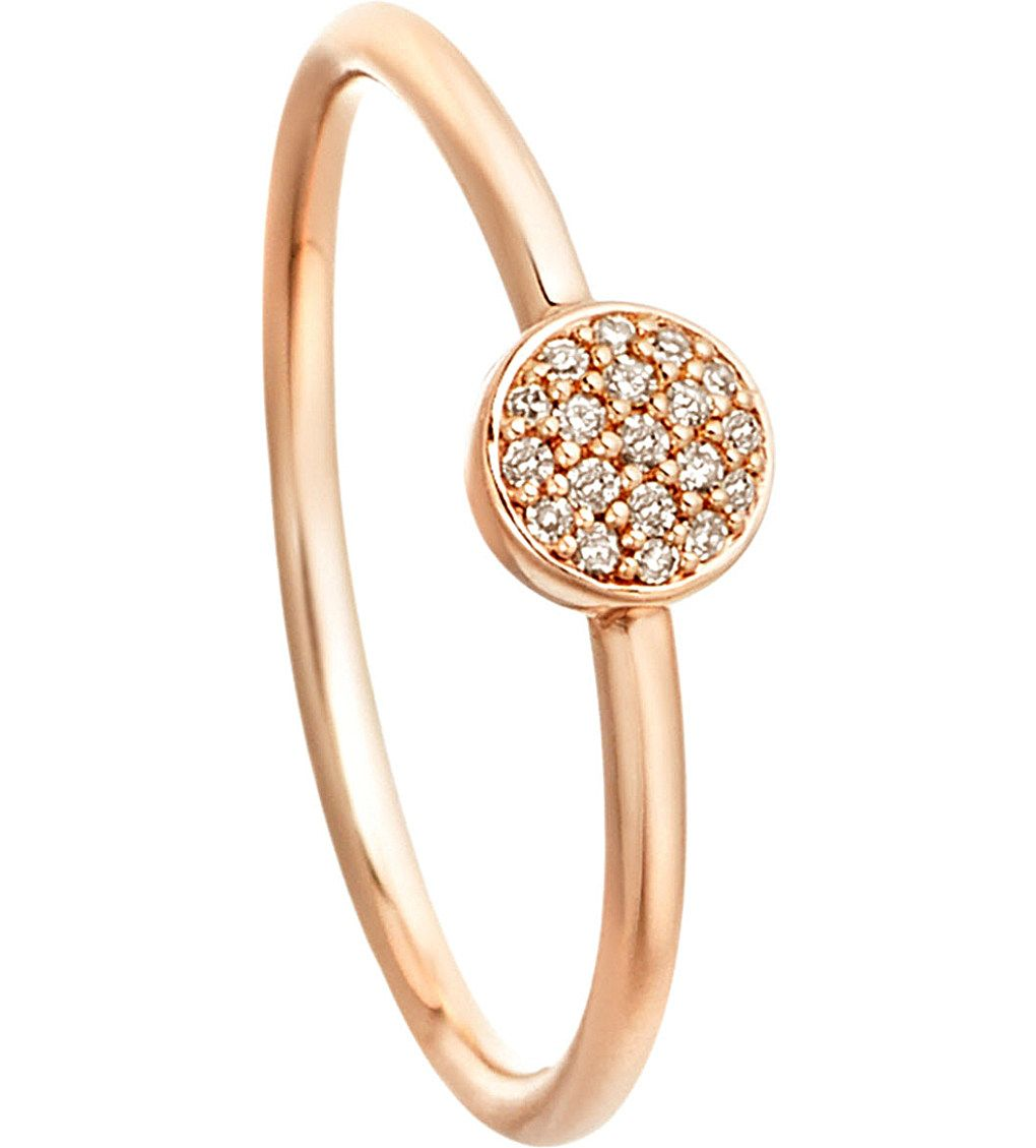 ASTLEY CLARKE - 14ct rose gold ring with grey diamonds | Selfridges.com