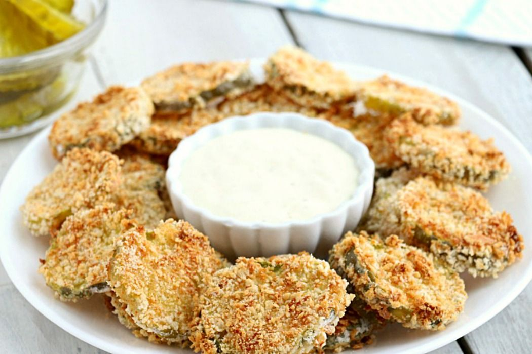 Air Fryer Fried Pickles Recipe Fried pickles, Homemade