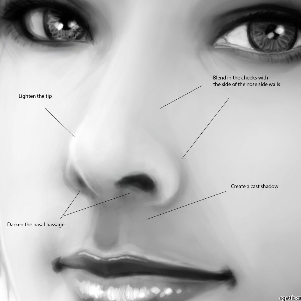How To Draw A Face: Tips And Techniques To Construct A Believable Human  Face Drawing!  Face