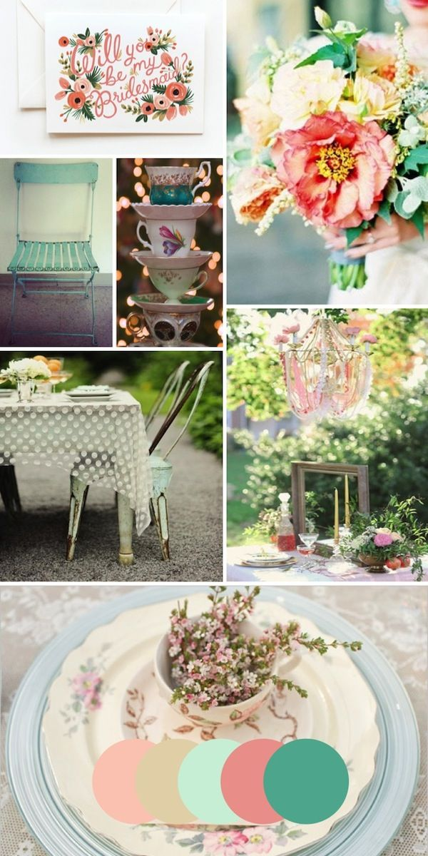 Garden Tea Party Inspiration, would you look at that sheer tablecloth? Ahhh!!!