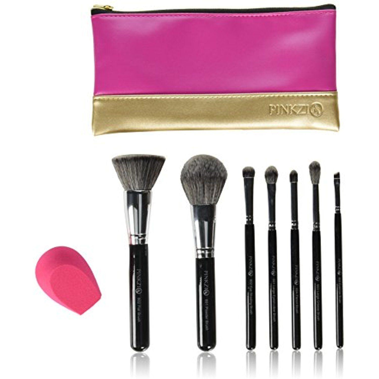 ESARORA Makeup Brush Cleaning Mat and 28 Holes Brush