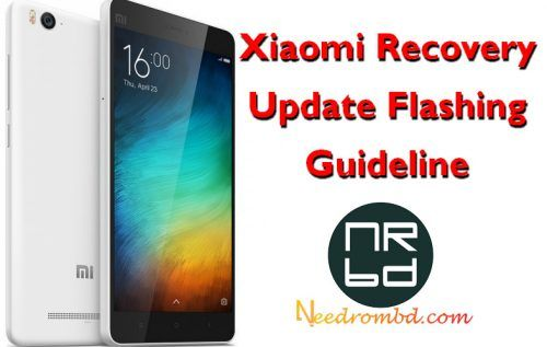 Xiaomi Recovery Update Flashing Guideline [Method:2 | Smartphone