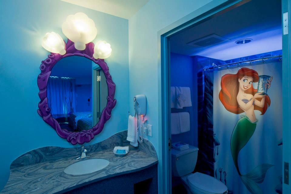 Ariel Mermaid Bathroom My Kids Will Have A Great Life Little Mermaid Bathroom Little Girl Bathrooms Mermaid Bathroom Decor