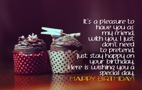 Happy Birthday Quotes Special Friend ~ Birthday quotes for special friend quotes birthdays