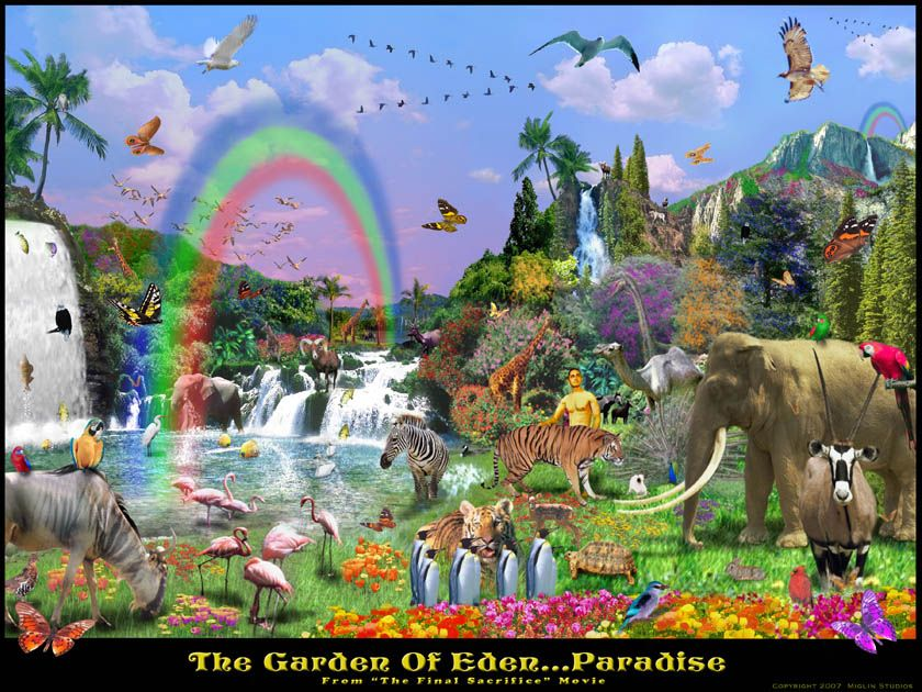 I M Moving To The Garden Of Eden Can Someone Tell Me The Way