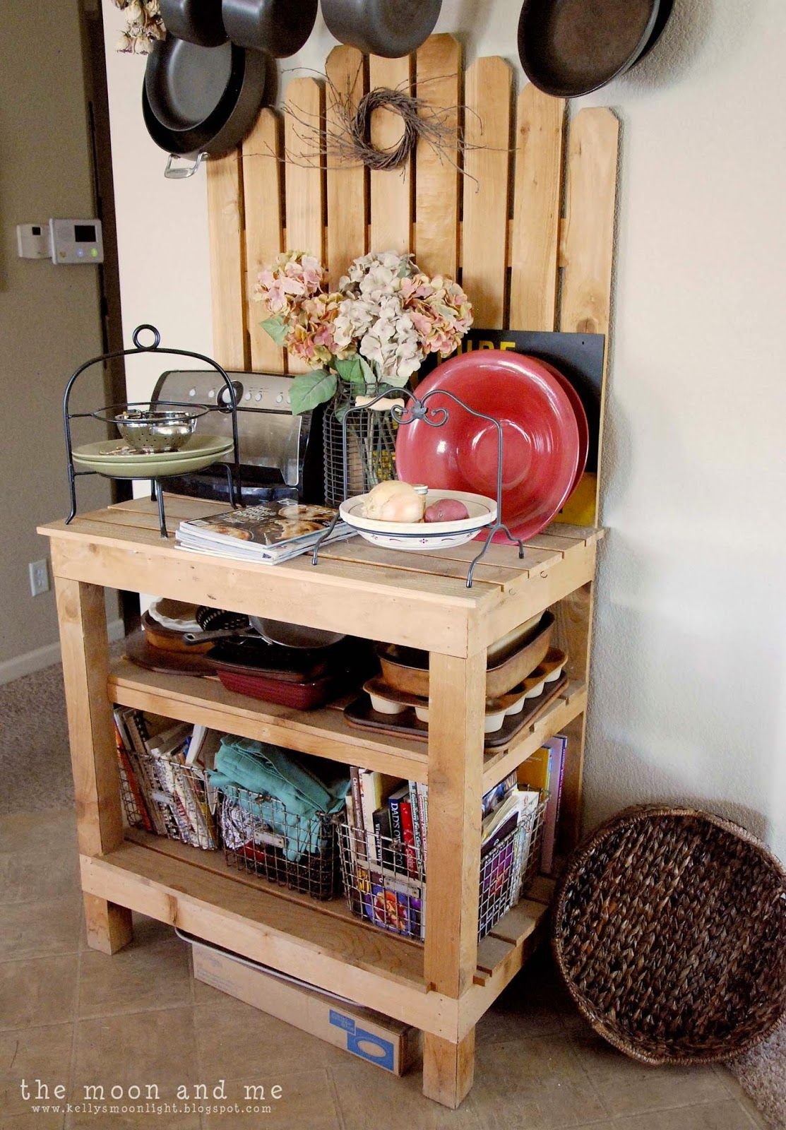 Pre Blogging Projects With Images Diy Furniture Rustic Bakers