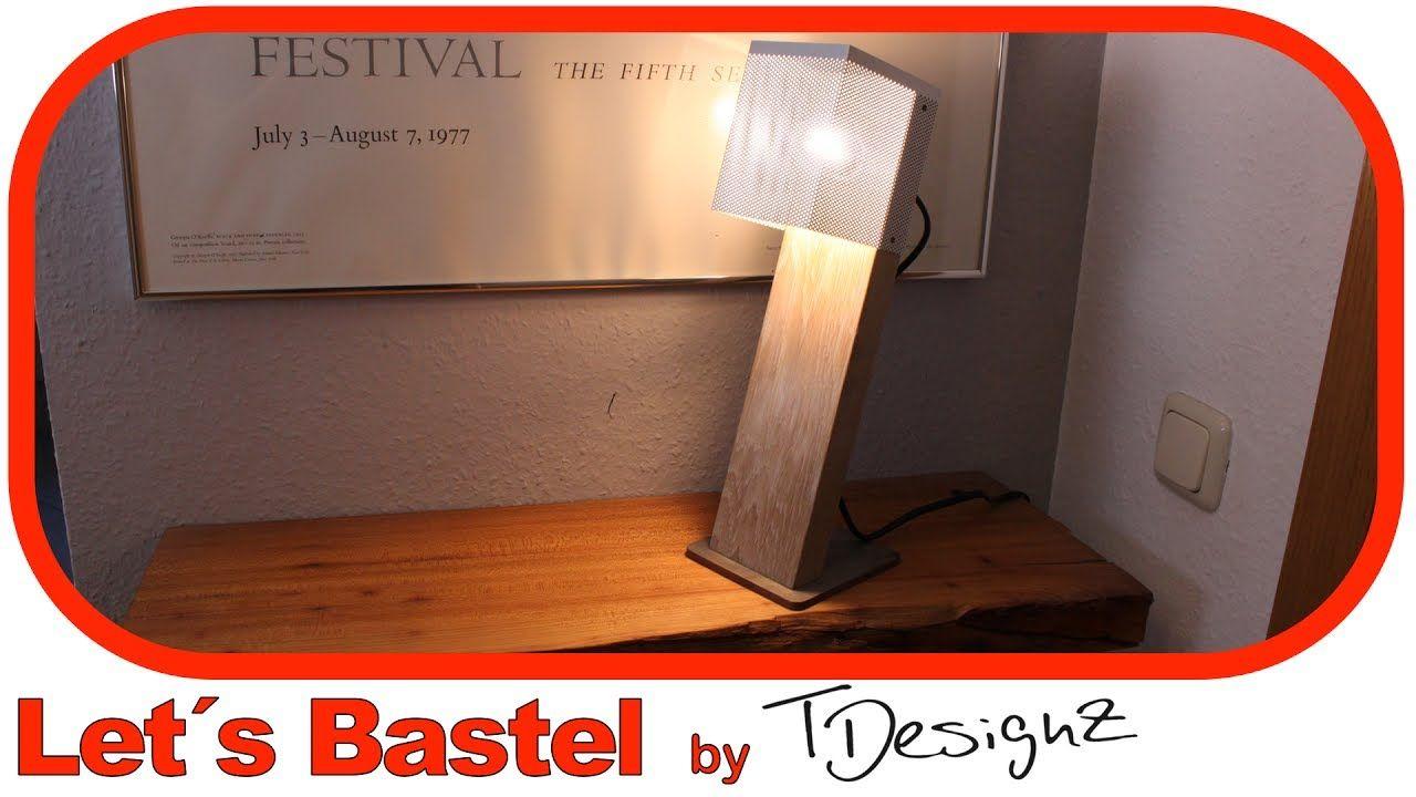 tolle led lampe aus holz diy anleitung schreibtischlampe selber bauen videos holz. Black Bedroom Furniture Sets. Home Design Ideas