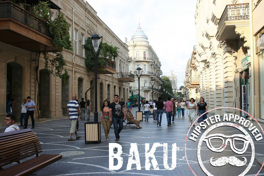 Baku Hipster Approved Street View Hipster City