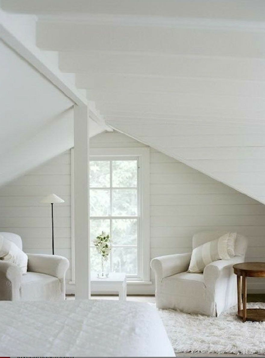 My One Room Challenge Attic Hang Out Guest Space Makeover Begins Most Lovely Things Attic Bedroom Designs Home Attic Remodel