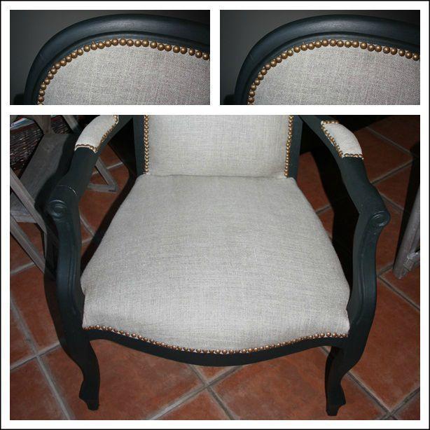 redoutable fauteuil voltaire gris | Décoration française ...