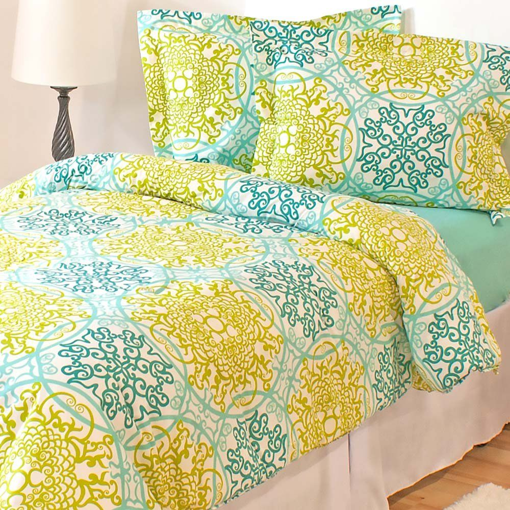 Catalina Comforter Set Size Twin/Twin Extra