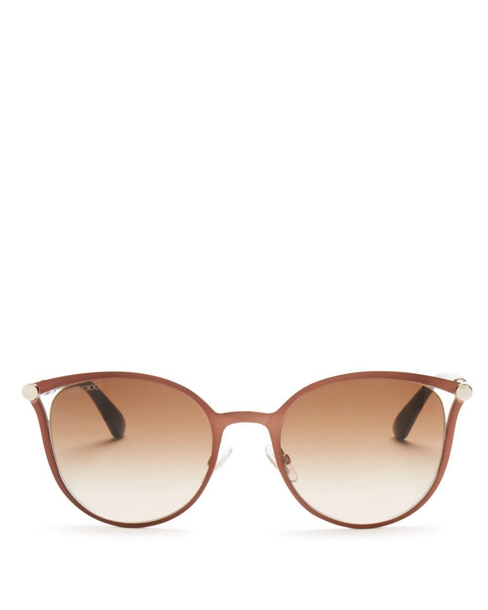 c82bd3e4209 JIMMY CHOO Jimmy Choo Neiza Cat Eye Sunglasses