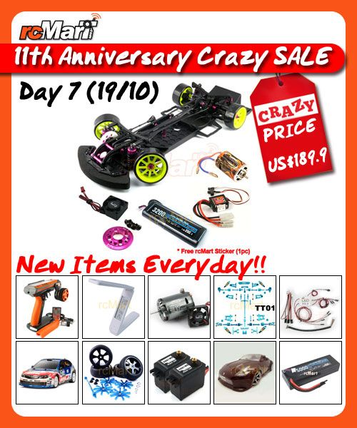 RC Crazy Sale Day 7 – Expire Soon! (With Images)