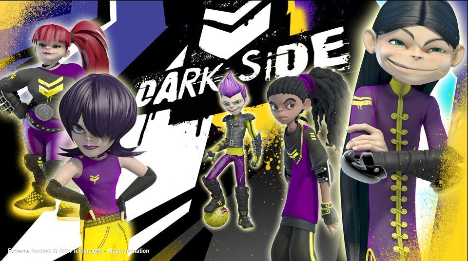 The dark side a very bad team! extreme football calcio e