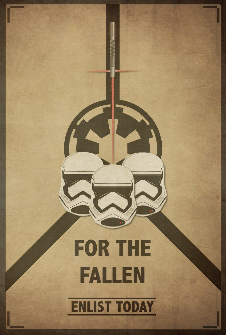 Star Wars VII Propaganda Poster by AtheistNation on DeviantArt