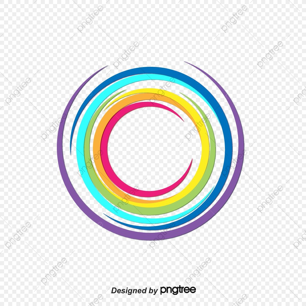 Rainbow Circle Title Box Rainbow Vector Circle Vector Box Vector Png And Vector With Transparent Background For Free Download Free Vector Graphics Circle Title Boxing