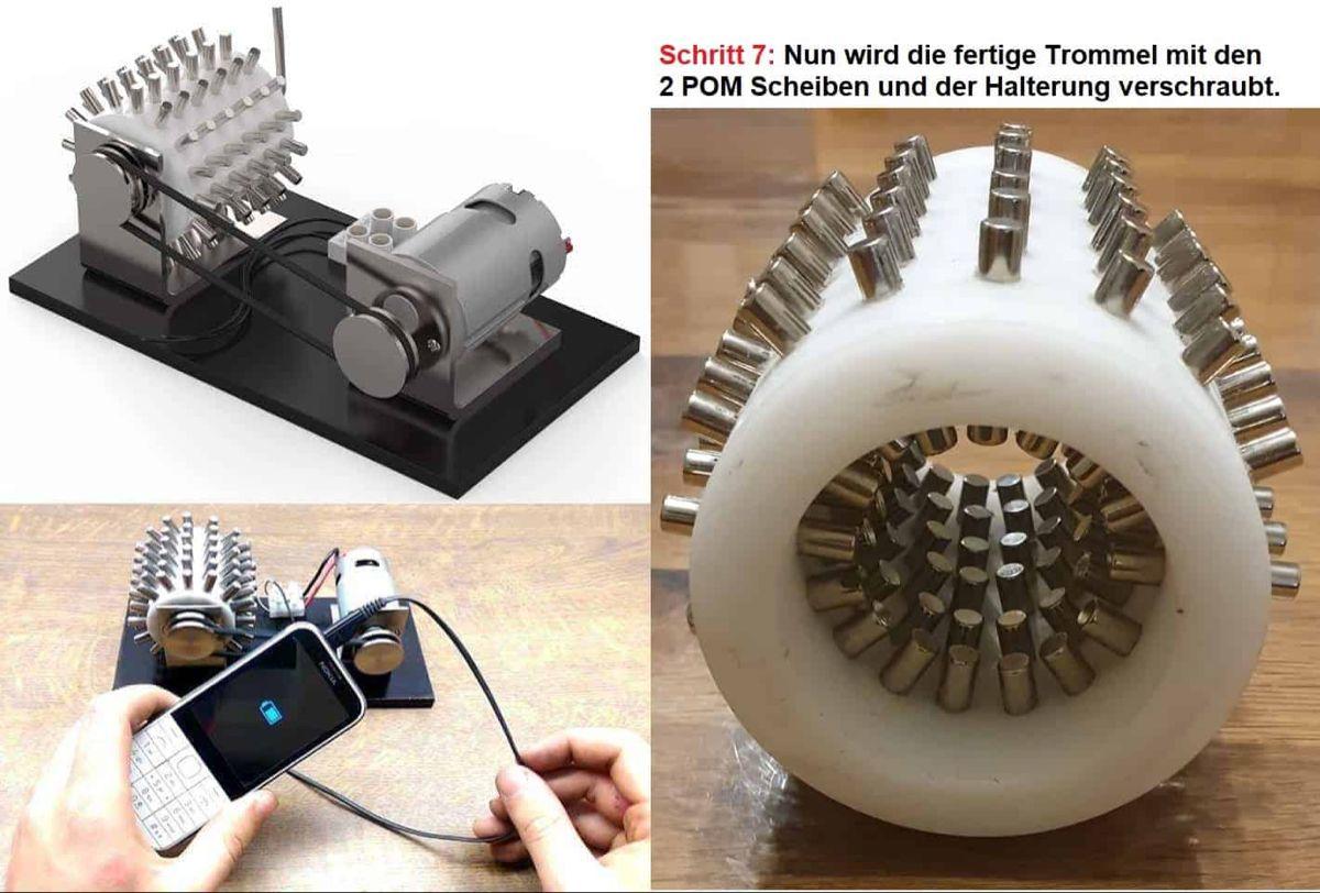 Magnetmotor4u Magnetmotor Selber Bauen Bauanleitung 2019 Bauanleitung Anleitungen Selber Bauen