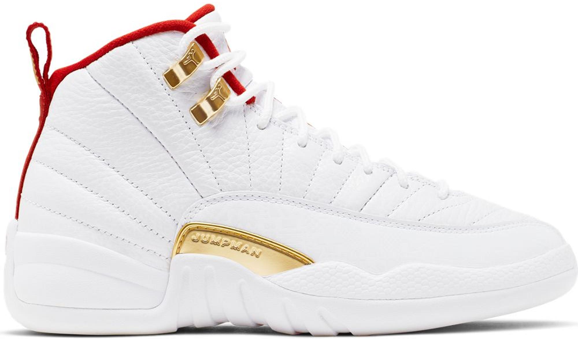 Jordan 12 Retro Fiba 2019 (GS) in 2020 Jordan shoes