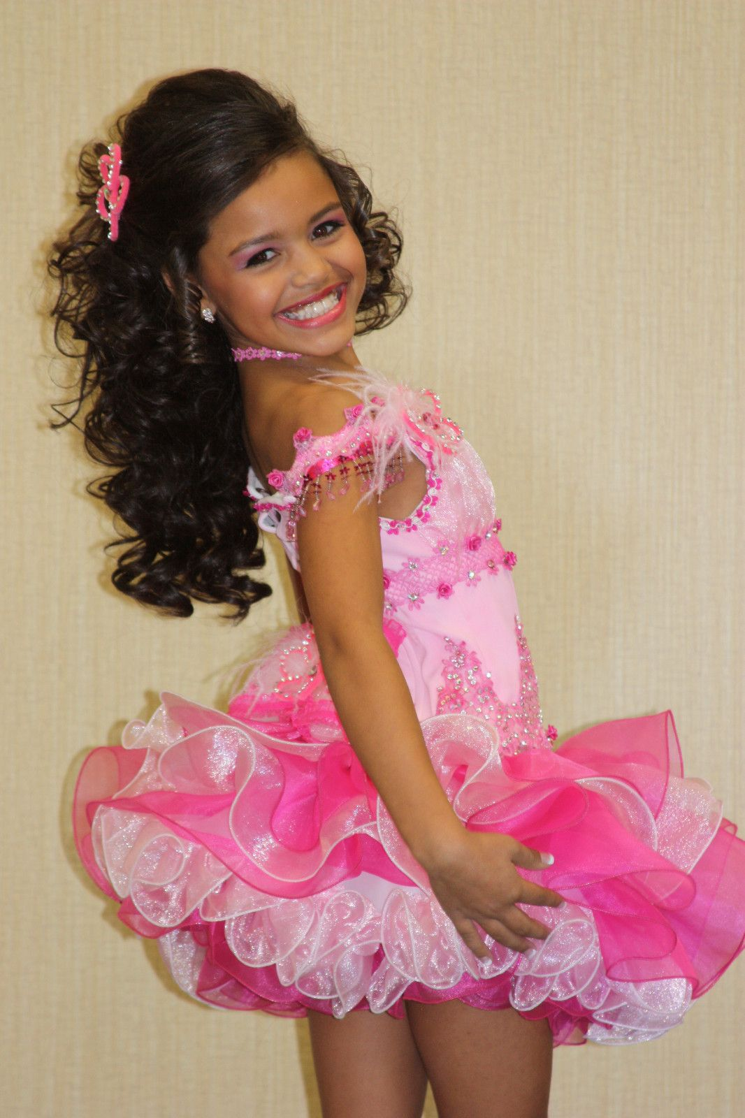 details about new!! gorgeous girls pageant bling jewel